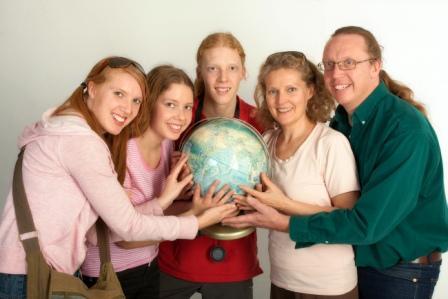 Viktoria, Aurora, Aron, Maria & Magnus