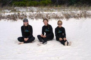 """The Whitest Beach in the world""""  - White Haven, Australia. Stinger suites required part of the year"""