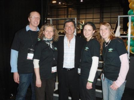 With T Harv Eker at the Millionaire Mind in London 2009