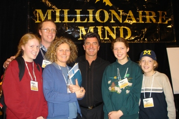 With T Harv Eker at the Millionaire Mind in Seattle 2004