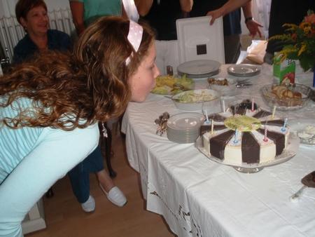 German birthday cake