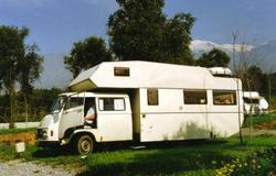 Our first campervan