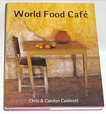 World Food Café recipe book – The result of a traveling the world theme