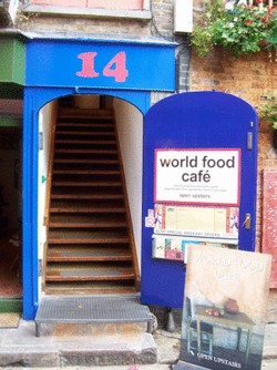 World food Cafe a result of traveling the world