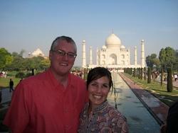 Derek and Shanna on their one year long honeymoon