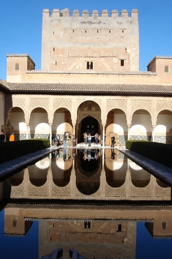 Long term travel offers many real life opportunities for learning <br> Today we learn about the Alhambra...